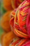 Colores en negrilla del hilado foto de archivo