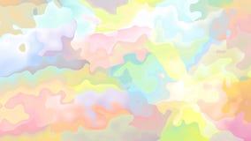 colores en colores pastel video manchados animados abstractos del lazo inconsútil del fondo metrajes