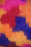 Colores en textura de la tela Foto de archivo libre de regalías