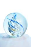 Colores en una bola de cristal Imágenes de archivo libres de regalías
