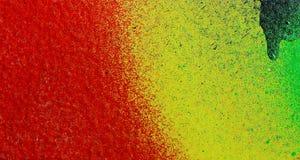 Colores en una pared fotos de archivo
