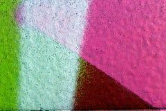 Colores en una pared fotografía de archivo
