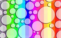 Modelo del arco iris Fotografía de archivo libre de regalías