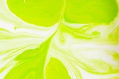 Colores, fondos y texturas abstractos Colorante alimentario en leche Foto de archivo