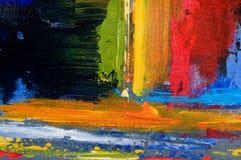 Colores hermosos de la salpicadura de la pintura con textura imagen de archivo libre de regalías
