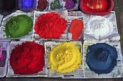 Colores hindúes Foto de archivo libre de regalías