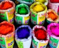 Colores hindúes fotografía de archivo libre de regalías