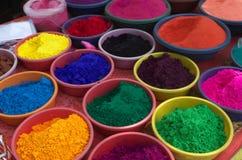 Colores-Ii hermosos de la celebración de Diwali Imágenes de archivo libres de regalías