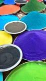 Colores indios del holi imágenes de archivo libres de regalías