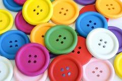 Colores intrépidos de los botones Fotos de archivo libres de regalías