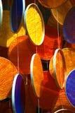 Colores juguetones en círculos Foto de archivo libre de regalías