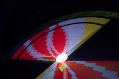 Colores mágicos de la noche Imagen de archivo