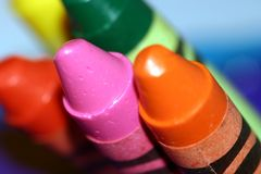 Colores macros Imagen de archivo libre de regalías