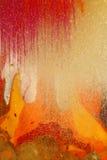 Colores magentas abstractos de la pintura Fotografía de archivo