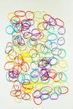 Colores mezclados de la goma foto de archivo libre de regalías