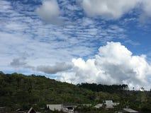 3 colores nublados Fotos de archivo