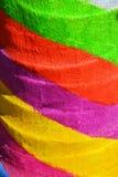 Colores pintados arco iris del orgullo Imágenes de archivo libres de regalías