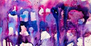 Colores que fluyen Fotografía de archivo libre de regalías