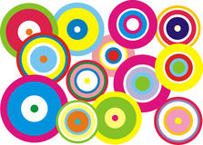 Colores redondos Imagen de archivo libre de regalías