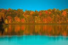 Colores ricos del otoño Imagen de archivo libre de regalías