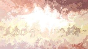 Colores rosados del lazo del fondo viejos, amarillos claros y beige video inconsútiles manchados animados abstractos almacen de video