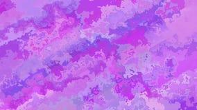 Colores rosados púrpuras video manchados animados abstractos del lazo inconsútil del fondo almacen de video