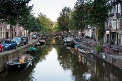 Colores salvajes de Amsterdam Fotos de archivo
