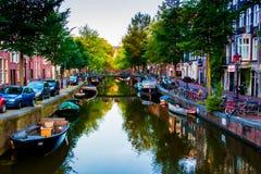 Colores salvajes de Amsterdam Imagenes de archivo