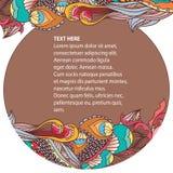 Colores tropicales stock de ilustración