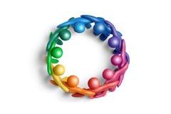 Colores unidos 1 Foto de archivo libre de regalías