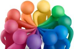Colores unidos 19 Imagen de archivo