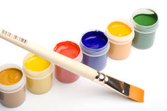 Colores vibrantes Fotografía de archivo libre de regalías
