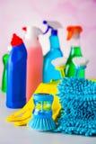 Colores vivos en concepto que se lava Imágenes de archivo libres de regalías