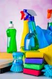 Colores vivos en concepto que se lava Foto de archivo libre de regalías