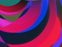 Colores y dimensiones de una variable II Foto de archivo libre de regalías