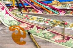 Colores y modelos para el hogar Foto de archivo libre de regalías