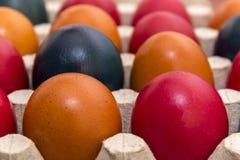 Colores y tradición, huevos de Pascua Fotos de archivo libres de regalías