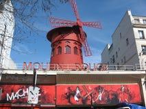 Colorete de Moulin Fotografía de archivo libre de regalías