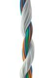 colorewhitetrådar royaltyfria foton