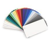 Colorez l'échantillon Images libres de droits