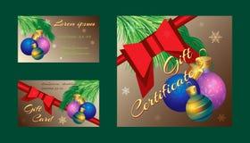 Colorez l'ensemble de fête de cadeau de vecteur Photo stock