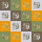 Colorez la boucle florale de modèle Image libre de droits