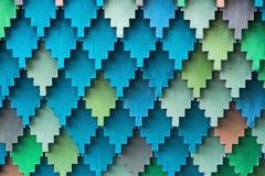 Colorez la Lemech-vieille méthode russe de toiture Photos stock