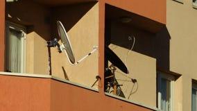 Colorez le contraste des appartements modernes de l'Iran banque de vidéos