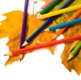 Colorez le crayon. Photos libres de droits
