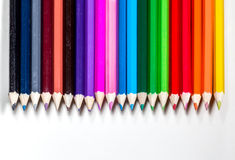 Colorez le crayon Photo stock