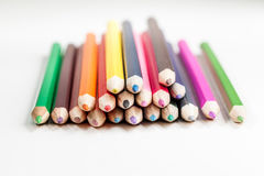 Colorez le crayon Image stock