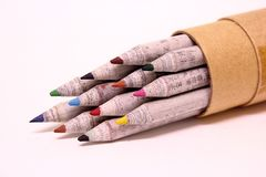 Colorez le crayon Photographie stock libre de droits