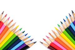 Colorez le crayon Photo libre de droits