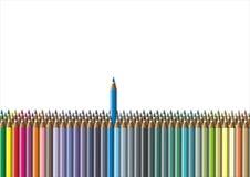 Colorez le crayon Image stock